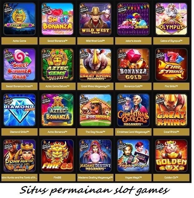Situs permainan slot games